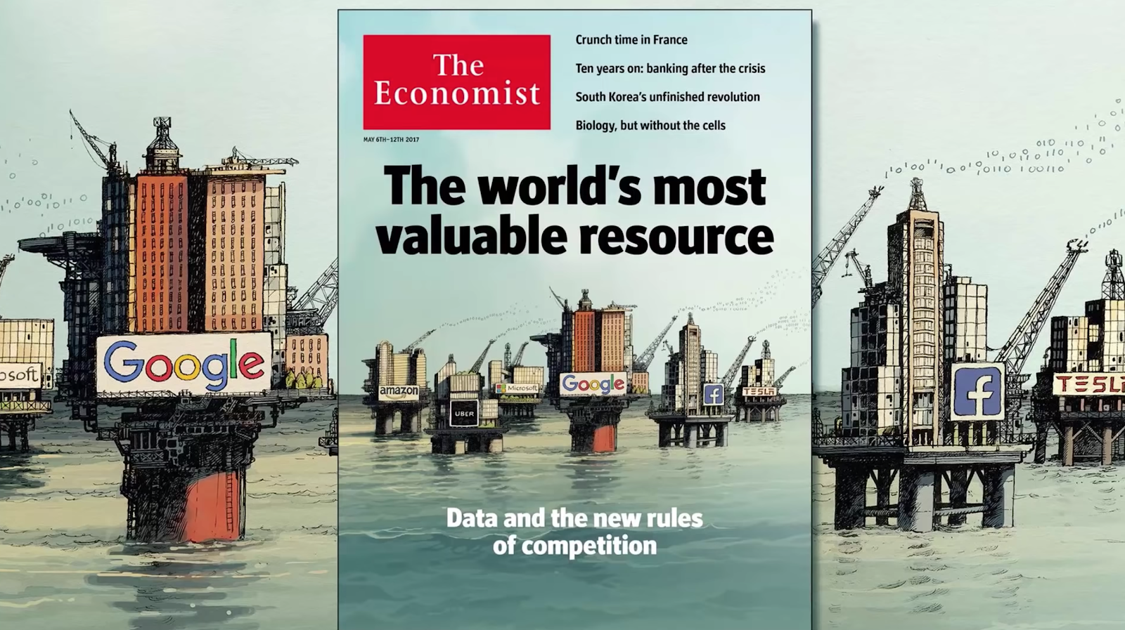 Data is the New Oil, said the Economist.