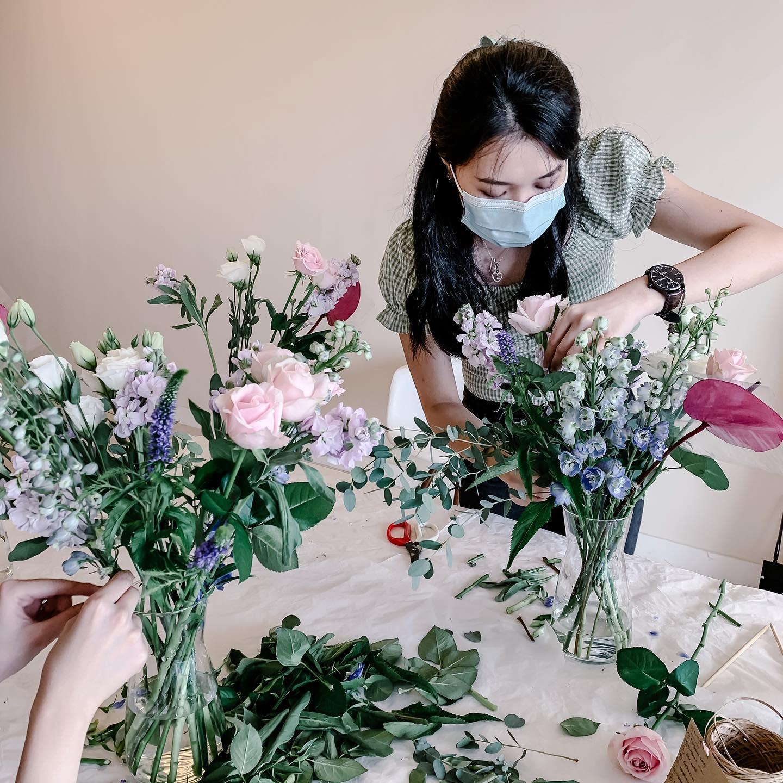 Floral arrangement workshop in KL