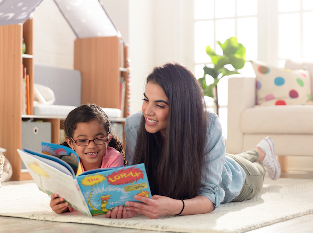 Family Reading Together, Indoor Activities