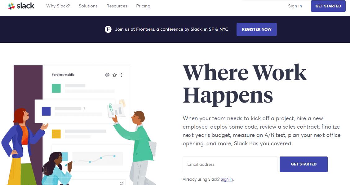 best-homepage-slack