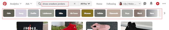 Keyword search page 1