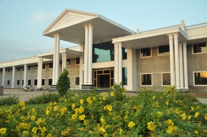 College Front View