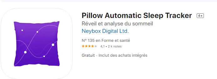 Capture de pIllow Automatic Sleep