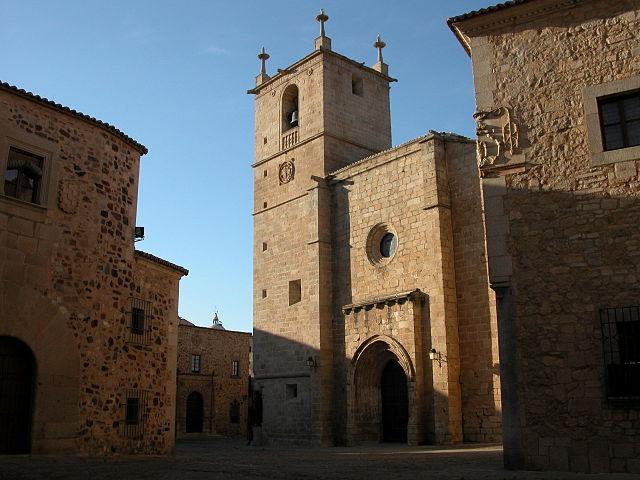 Concatedral de Santa Marñia de Cáceres
