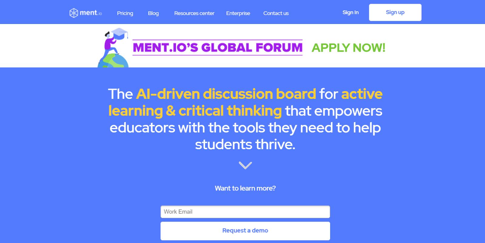 Screenshot of Ment - Cohort Based Course Platform