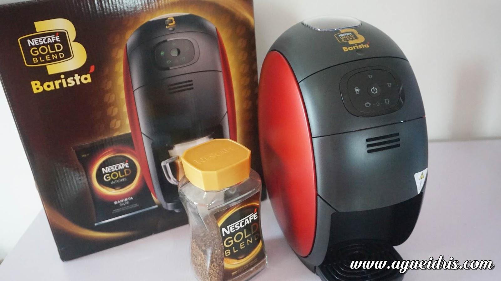 Nescafe Gold Barista Coffee Machine cara guna harga (12).JPG