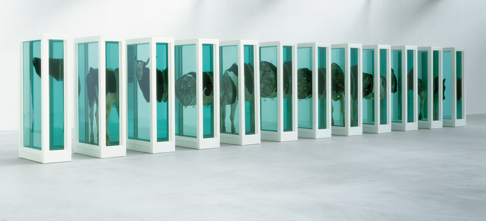 Damien Hirst (b. 1965) Some Comfort Gained from the Acceptance of the Inherent Lies in Everything