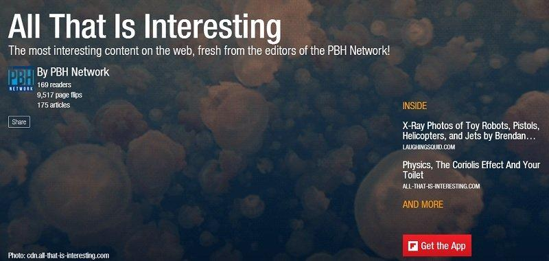 All That Is Interesting Flipboard Magazines