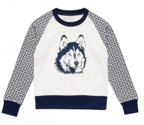 a03f48887f96 Our boys wolf print sweatshirt is perfect for keeping your little one cosy  while adding some winter style. For a long-sleeve top ...