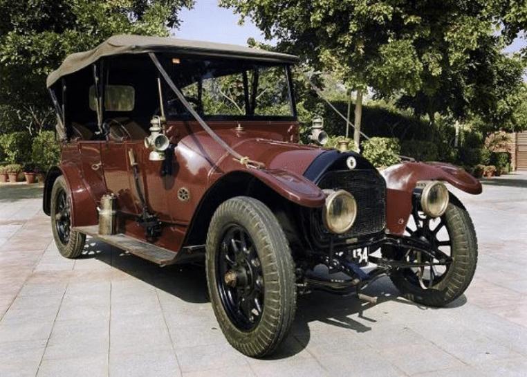 Sudhir Choudhrie's Darracq12hp Type V circa 1914