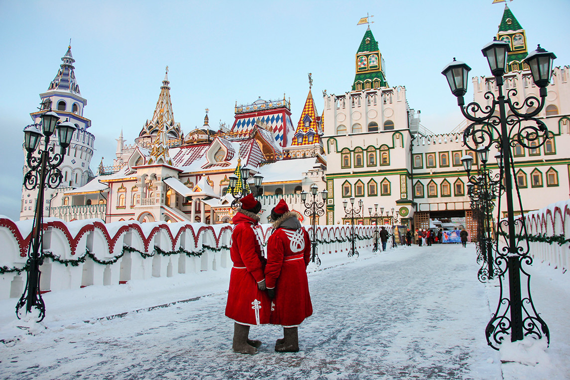 Winter in Moscow, Kremlin in Izmailovo
