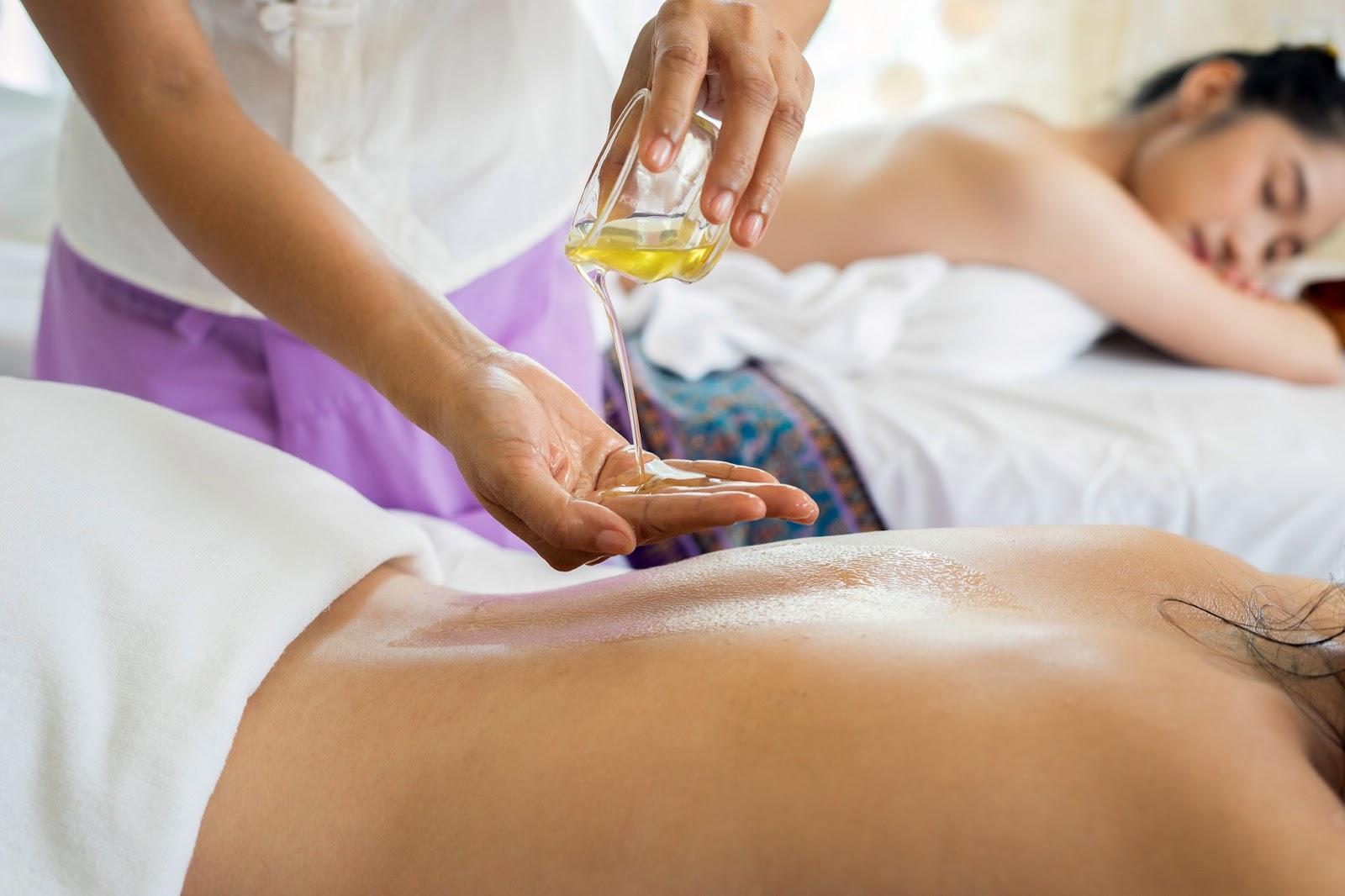 massage newly-wed activity