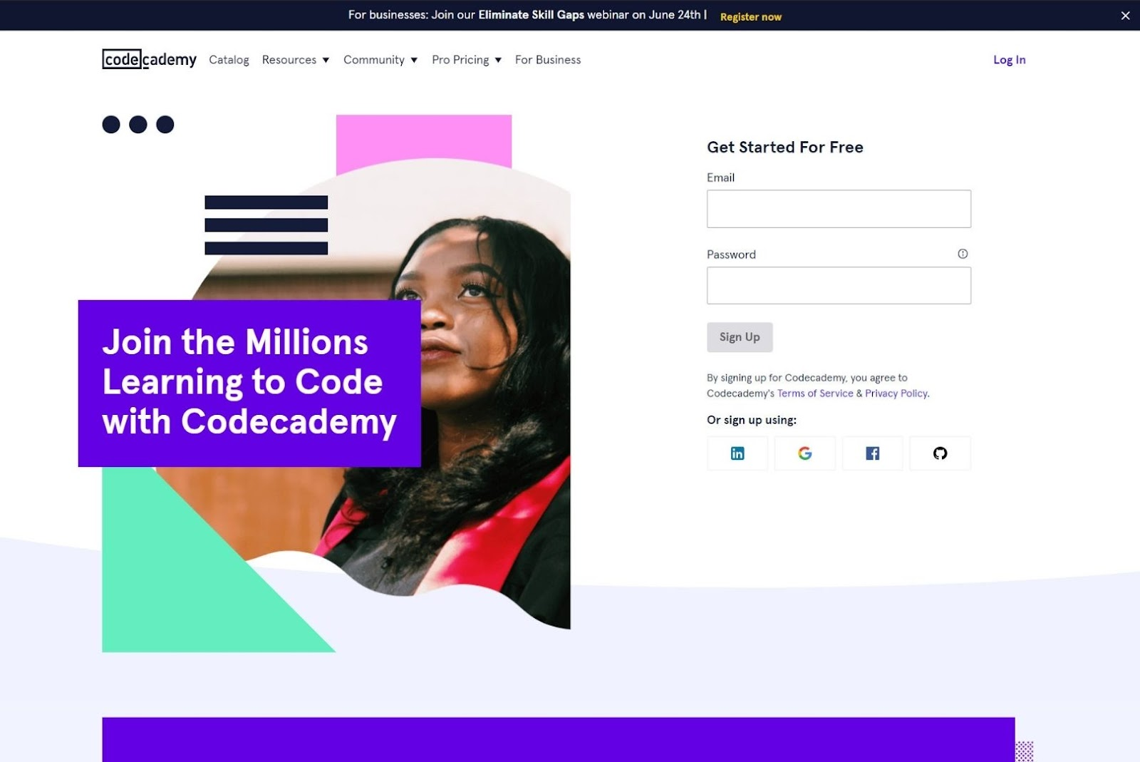 Codecademy Websites Built with React JS
