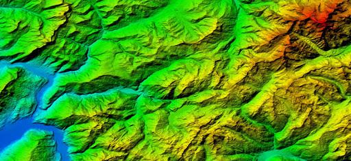 Geospatial Data - Digital Elevation Model