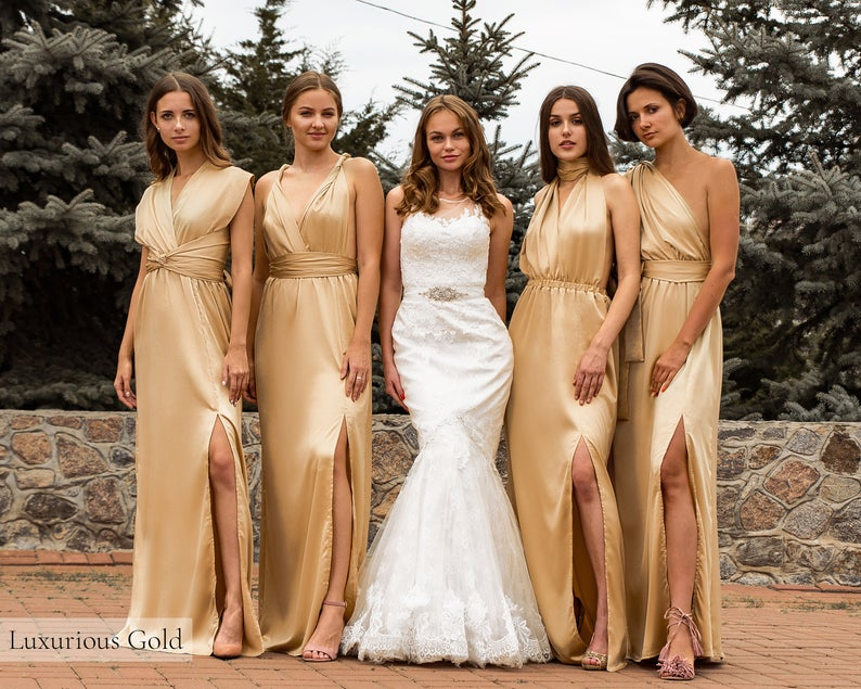 plus-size multiway bridesmaid dresses 4