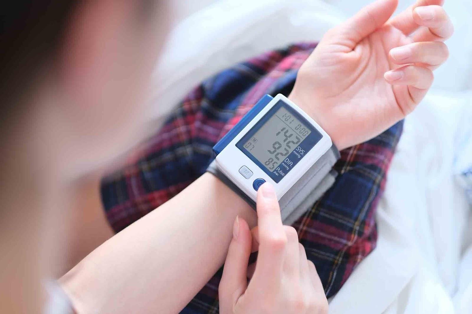 medição da pressão arterial