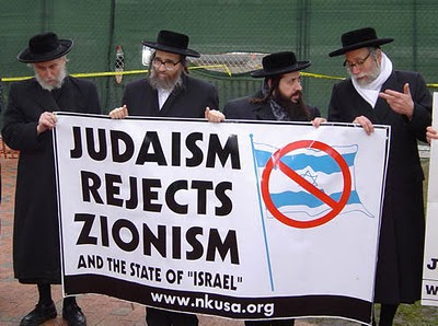 Anti-Zionist Jews.
