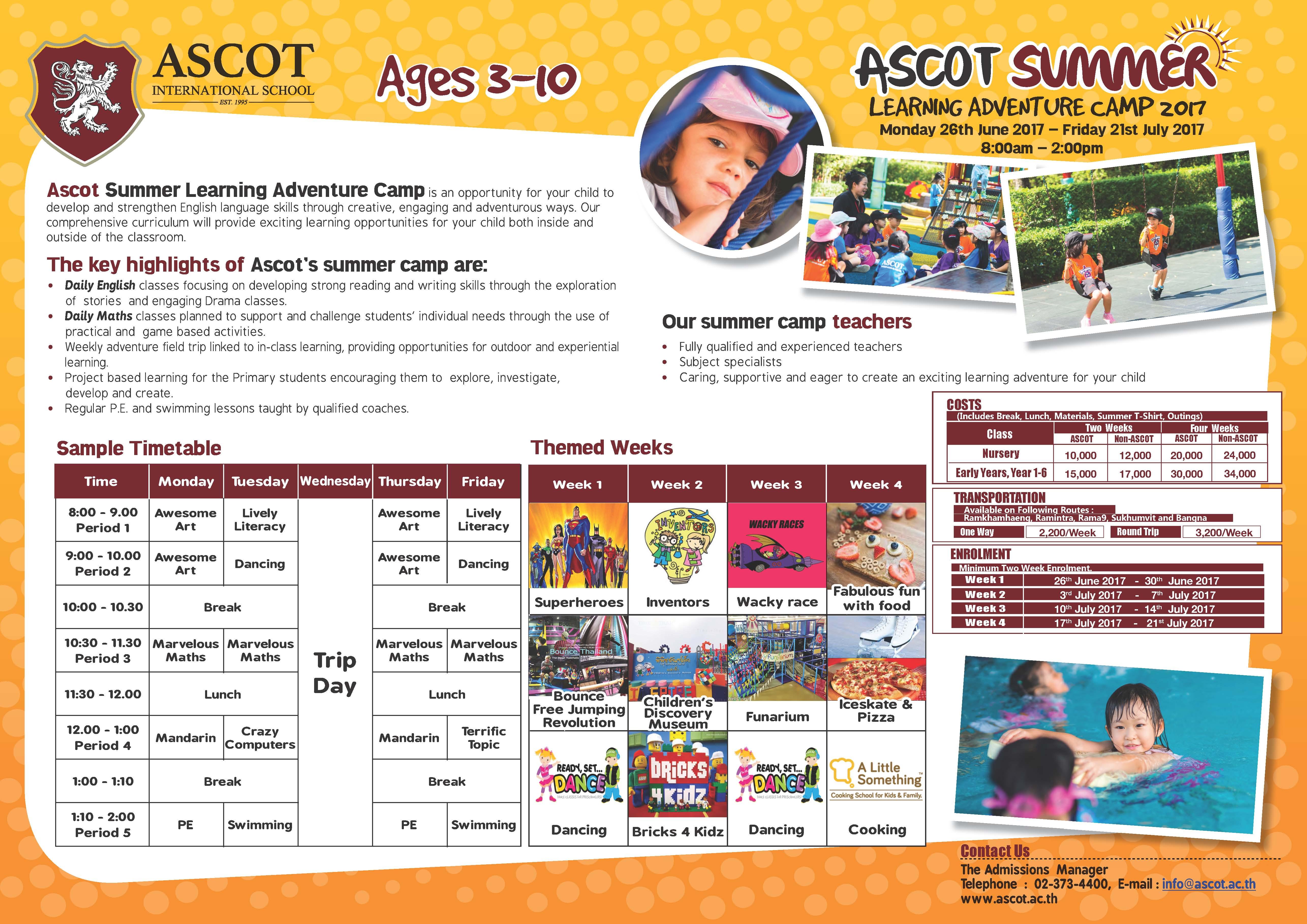 http://ascot.ac.th/summer-school/