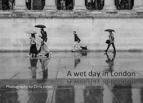 Street photo ebook - A Wet Day In London