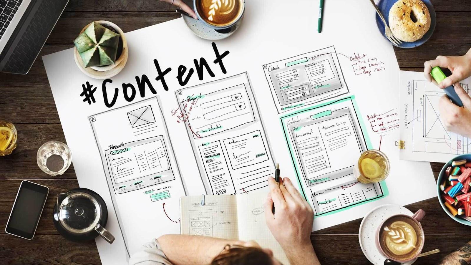 Content của doanh nghiệp cần cung cấp những thông tin thật sự giá trị (Ảnh: minara.net)