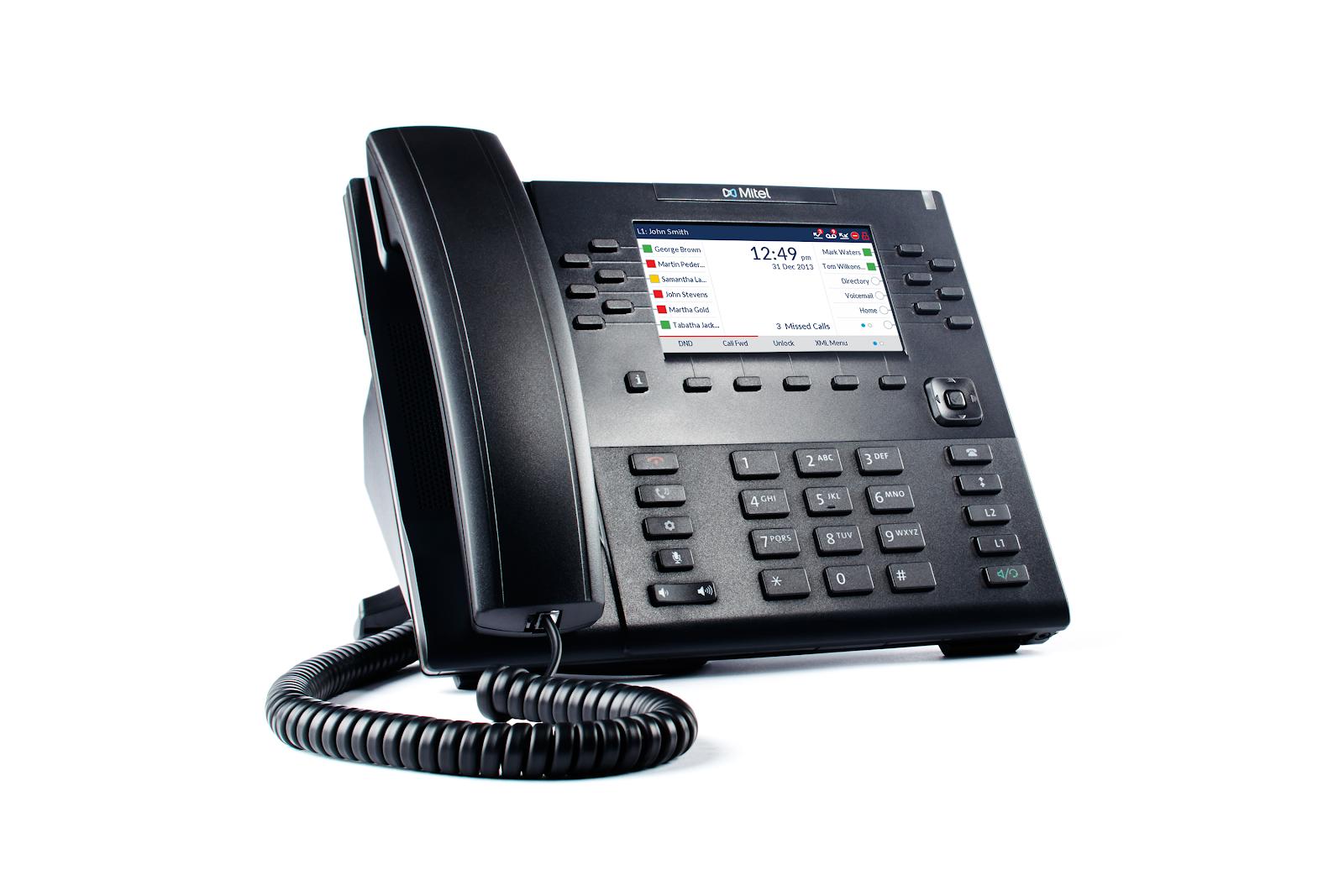 Mitel 6869 phone