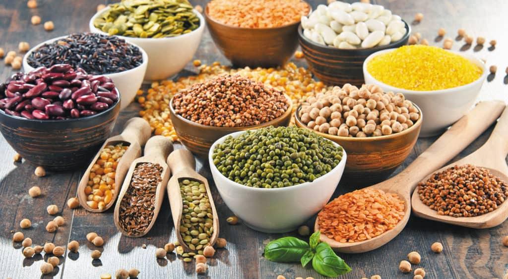 Nguyên liệu làm ngũ cốc khác nhau