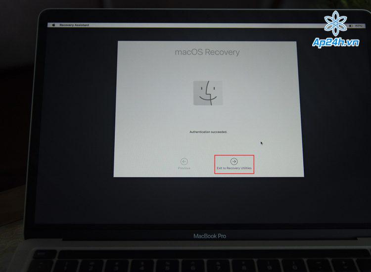 hạ cấp macOS Big Sur