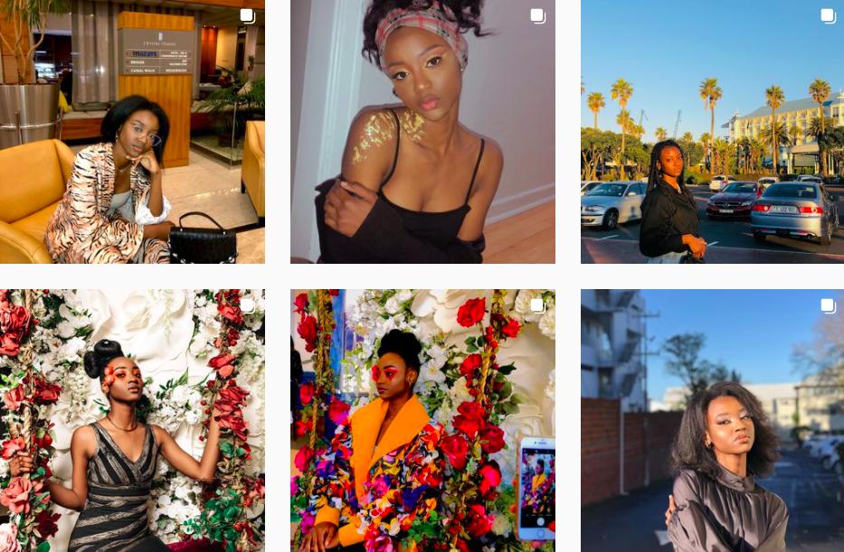Josephine Salumu | Instagram Posts | South African Model
