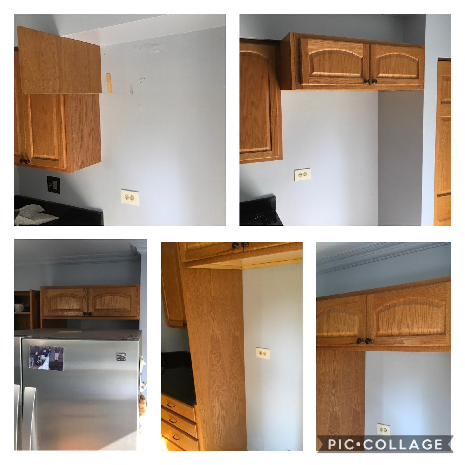 Mr. Handyman kitchen remodel services.