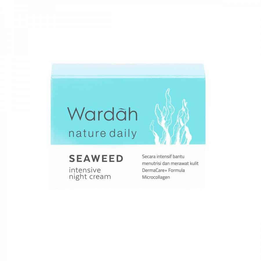 Wardah Nature daily Seaweed Intensive Night Cream