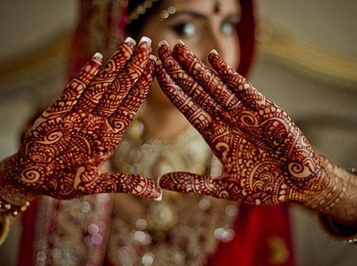 Indian Henna Tattoo Design