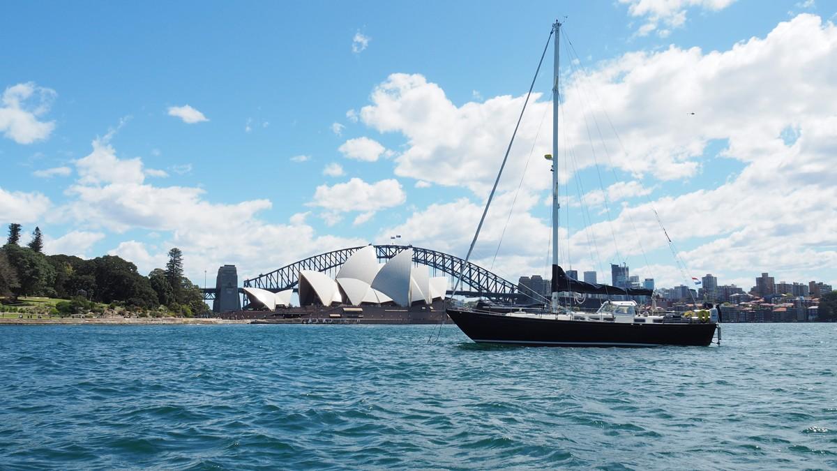 Яхтинг в Австралии