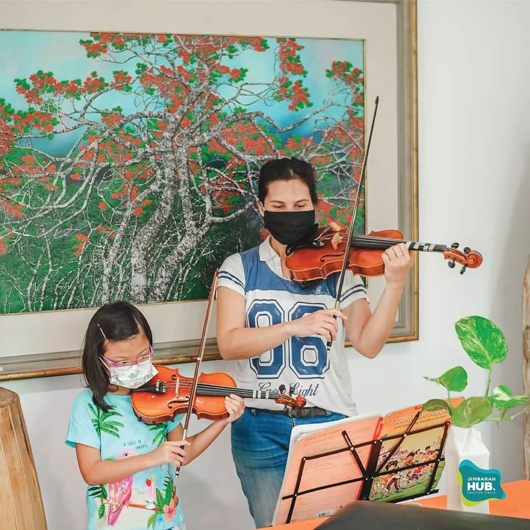 kids destination bali - jimbaran hub violin class
