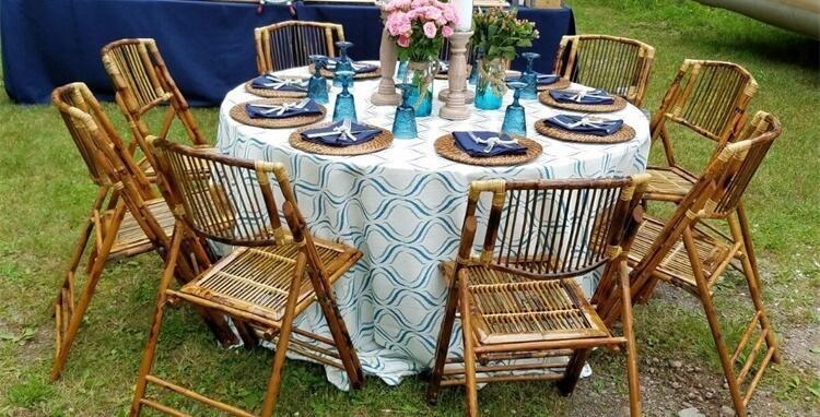 utdoor bamboo folding chairs
