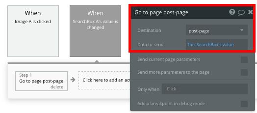 Bubble No Code Medium Clone Search Workflow Tutorial