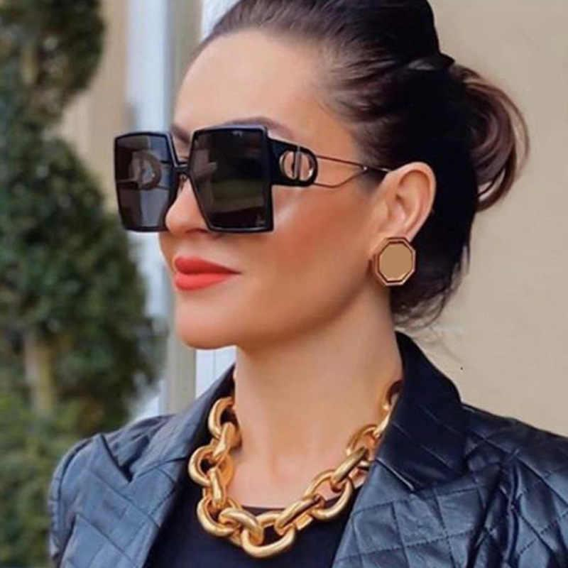 Luxury Brand Square Sunglasses Women Designer Vintage Sun Glasses For Women 2021 Trend Shades Cool Eyewear Female Gradient UV400