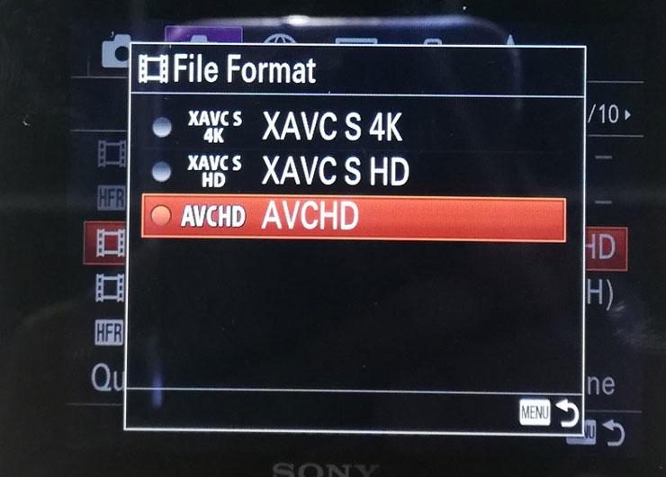 Format video bisa diatur hingga kualitas 4K. Foto: Dicky
