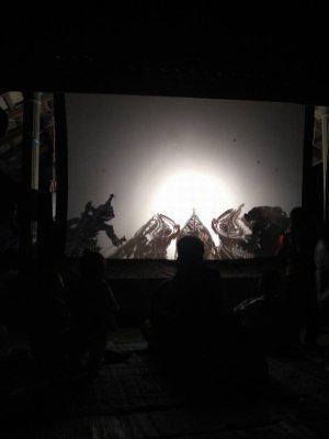 Wayang Kulit, teatro de sombras