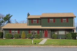 2 Tone Gray Home Exterior Schemes