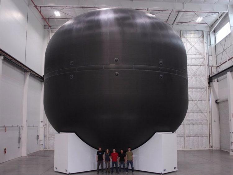 Bình nhiên liệu của Falcon Heavy.