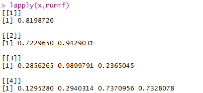 Functions in R - apply(), mapply(), tapply(), lapply() 44