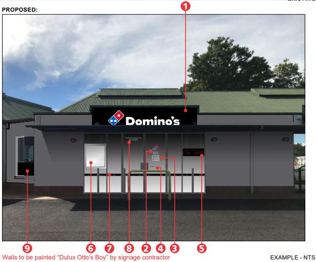 Domino's Takeaway Pizza Shop