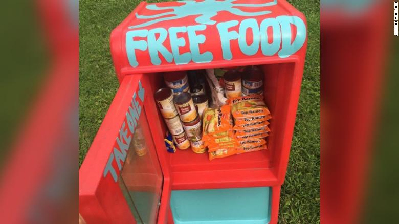 Free Little Pantry is a grassroots movement in which individuals and neighborhoods can provide direct relief to those in need of food or essential items.