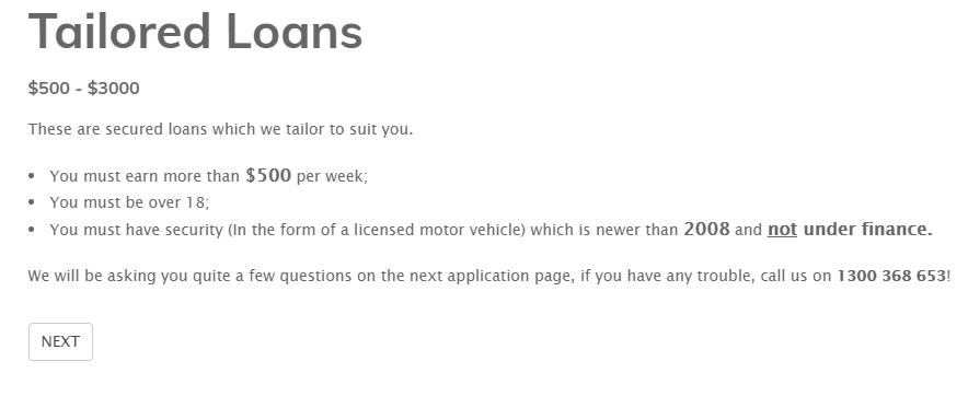 today loans australia loans application