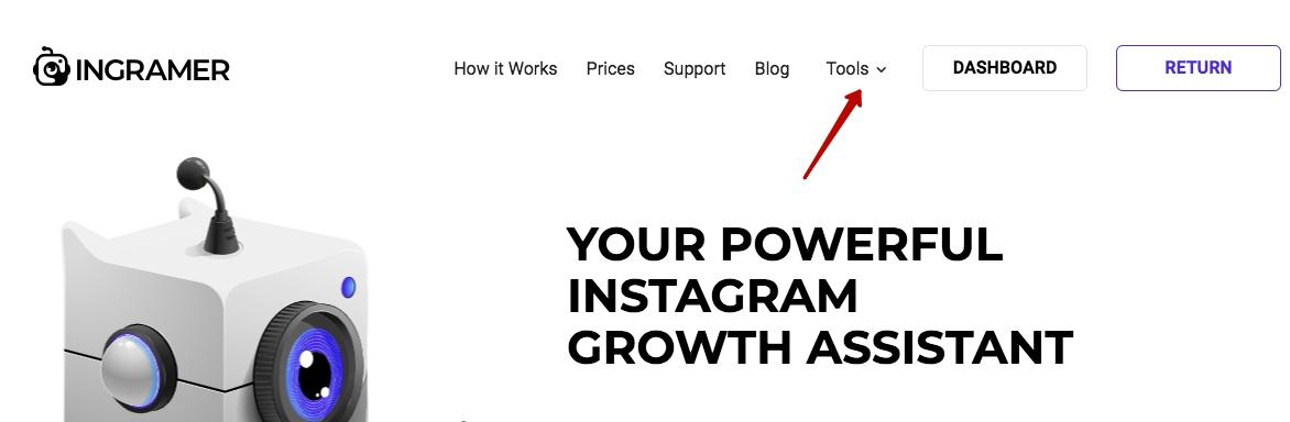 Ingramer settings for Instagram promotion 18