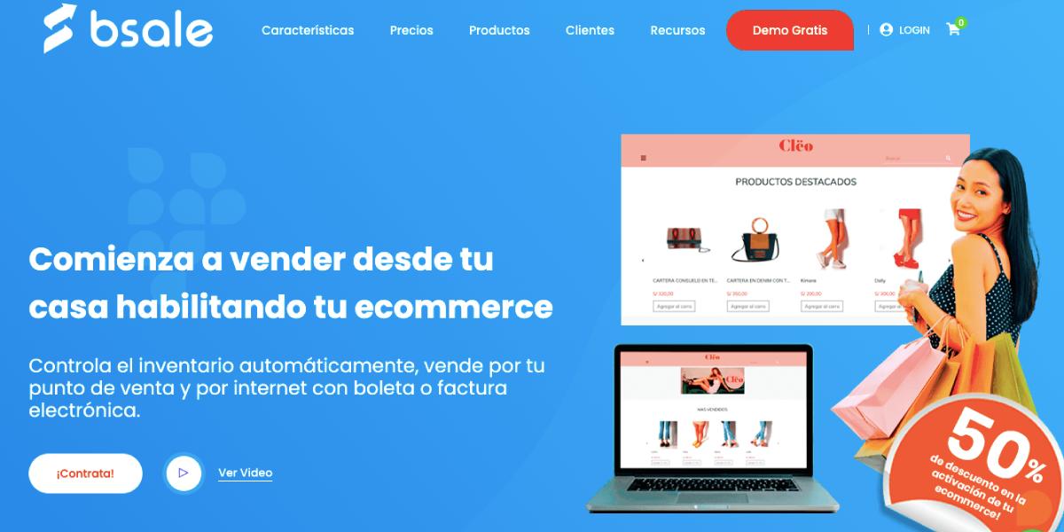 Ecommerce de Bsale - Sistema de venta online