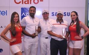 Holguín y Heredia ganan en golf Claro