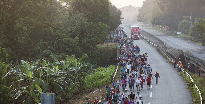 The Caravans Cometh, Making America Great No More