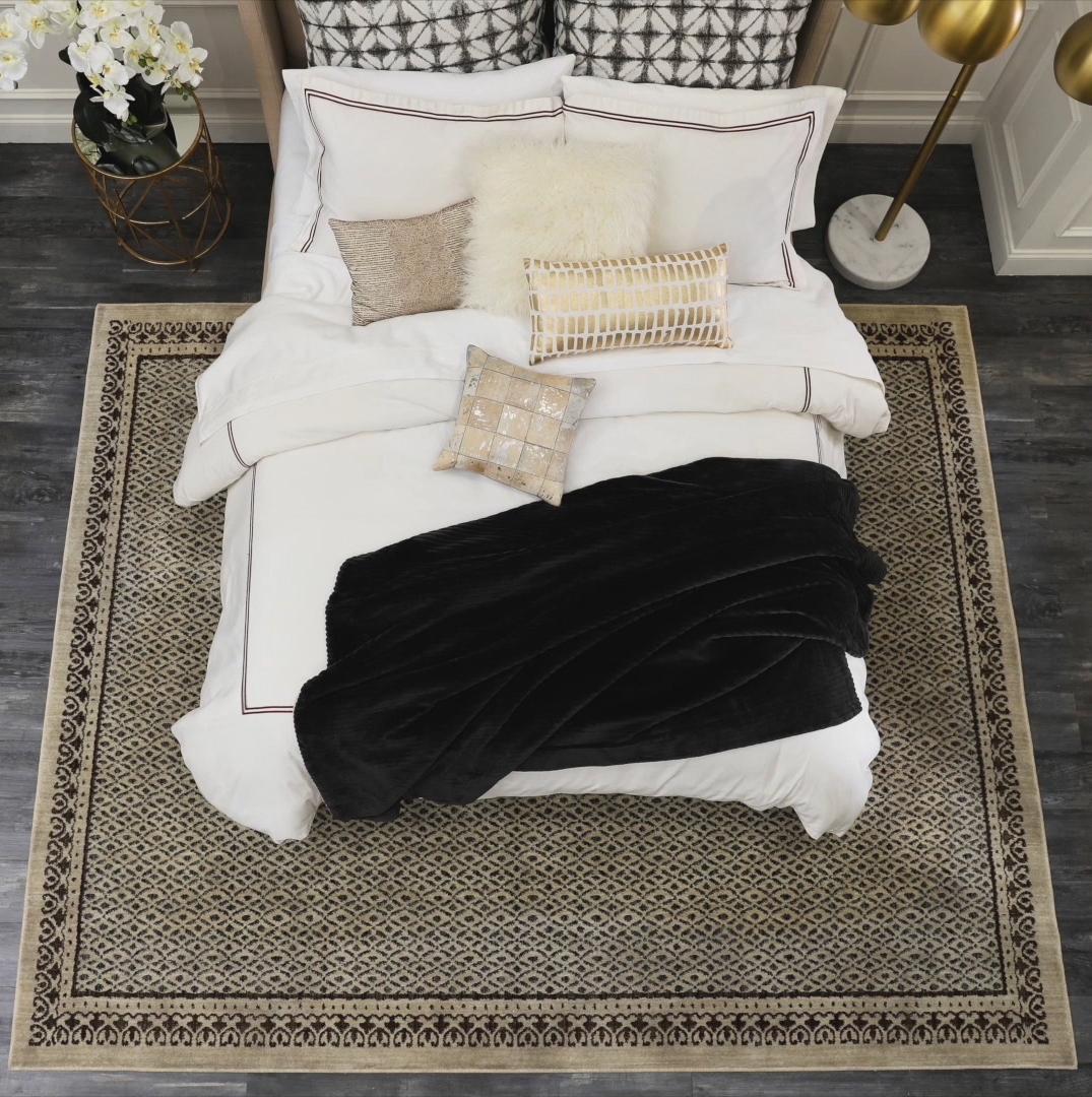 Bedroom Square Rug