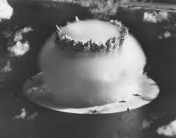 Baker test mushroom cloud